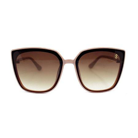 Óculos de Sol MustBe Bariloche Retrô Nude