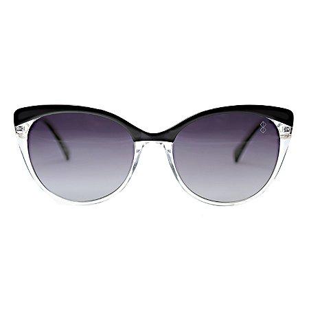 Óculos de Sol MustBe Kittylayer X-White&Black