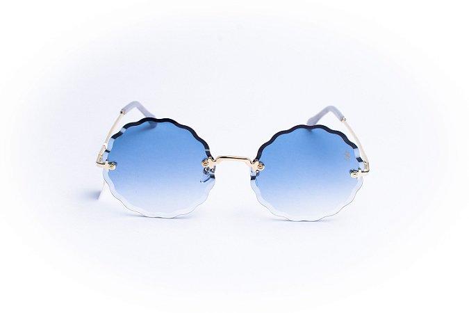 Óculos De Sol Mustbe Azul