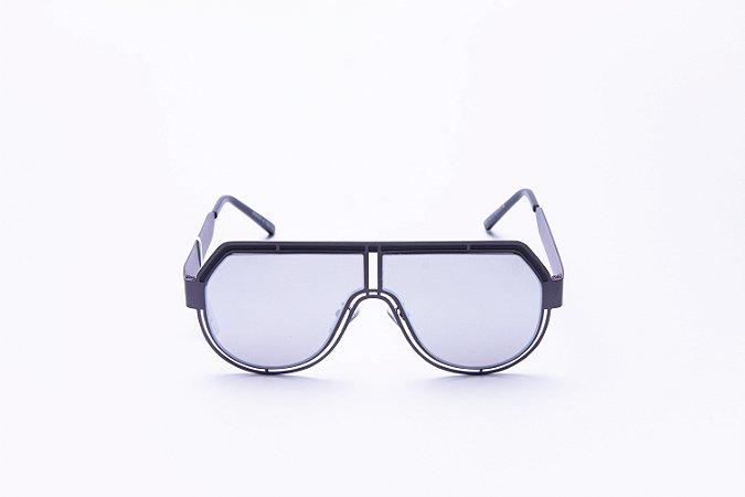 Óculos De Sol Mustbe Claus E Vanessa Cinza