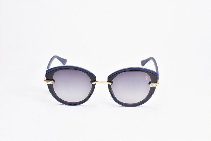 Óculos De Sol Mustbe Gabriela Markus Azul
