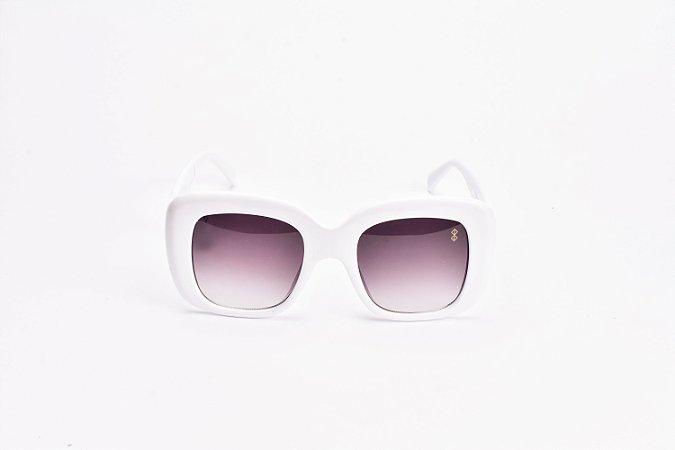 Óculos De Sol Mustbe Gabriela Markus Branco