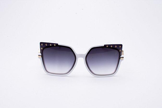 Óculos De Sol Mustbe Branco