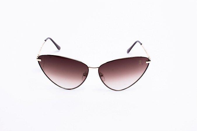 Óculos De Sol Mustbe Claus E Vanessa Marrom