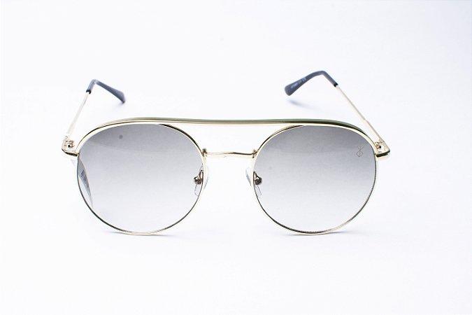 Óculos De Sol Mustbe Dourado