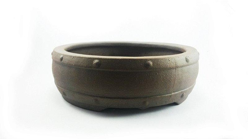Vaso Bonsai Jorge Ribas Redondo 18x18x5,5cm