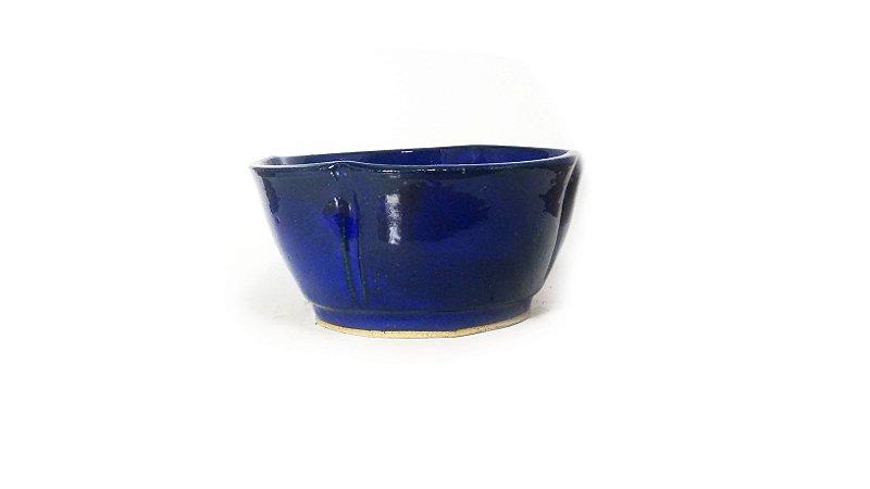 Vaso Bonsai Zezé Duchini Azul Violeta 7,5x16cm