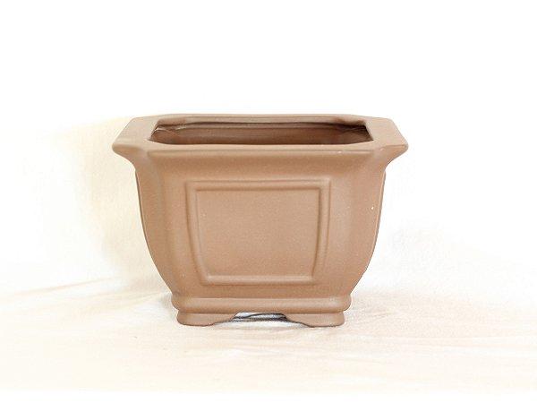 Vaso Bonsai Literato Semi Cascata/ Cascata 16x16x10cm