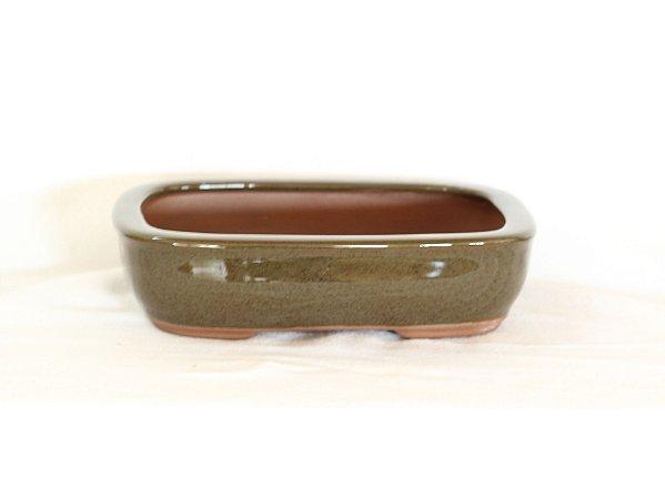 Vaso Bonsai Literato Retangular 15x11x4cm