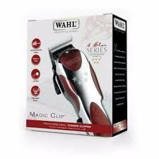 DUPLICADO - Máquina de corte profissional com fio WAHL Magic Clip  120v