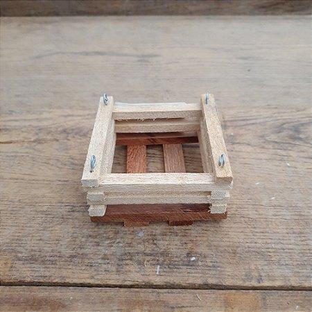 Mini Cachepô Quadrado Médio