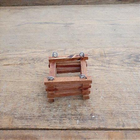 Mini Cachepô Quadrado Pequeno