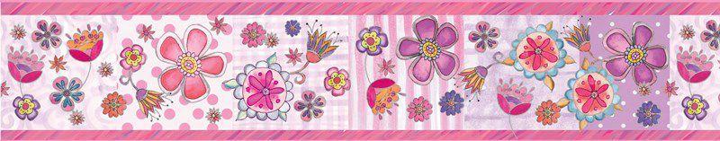 Faixa Infantil de Flores