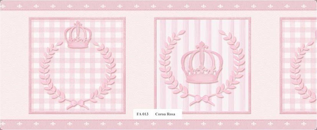 Faixa de Parede Princesa Rosa