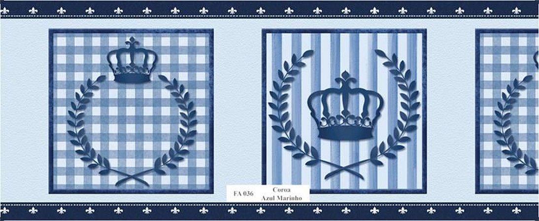 Faixa de Parede Principe Azul Marinho