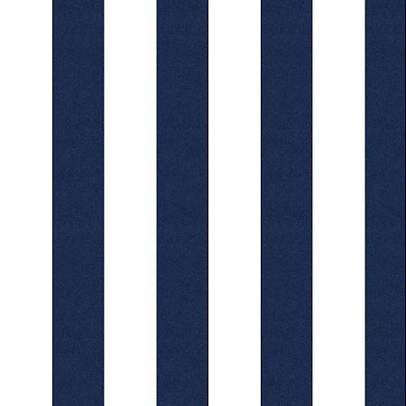 Papel Listrado Azul  Marinho e Branco