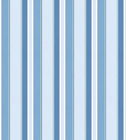 Papel Listrado Azul Marinho, Azul e Azul Claro