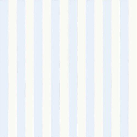 Papel de Parede Listras Azuis Bobinex Bambinos 3328