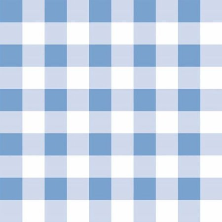 Papel de Parede Infantil Xadrez - Azul