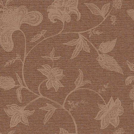 Papel de Parede Floral Palha Marrom Escuro Bobinex Natural 1409 Vinílico Lavável