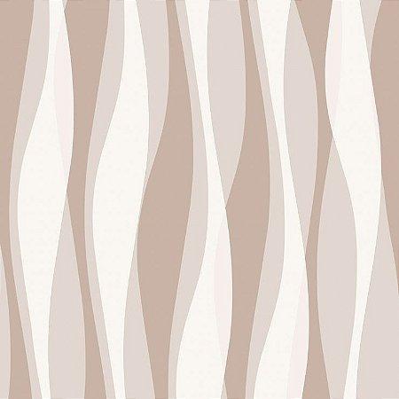 Papel de Parede 3D Marrom Bobinex Relevos 3427
