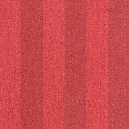 Papel de Parede Listras Largas Vermelho Bobinex Harmonia 9144 Vinílico Lavável
