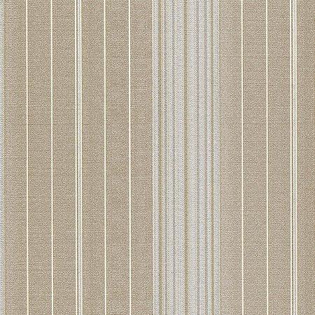 Papel de Parede Listras Areia e Bege Bobinex Classique 2839