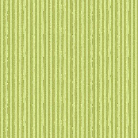 Papel de Parede Listras Verdes Bobinex Infantário 1748
