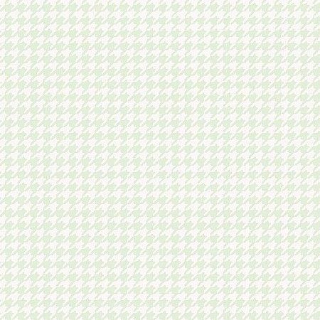 Papel de Parede Infantário Pied-Poule Verde Bobinex Infantário 1735