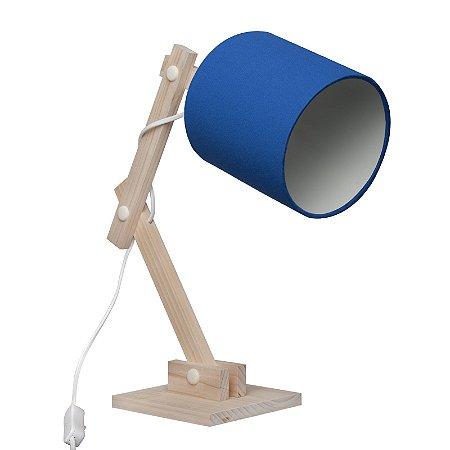 Luminária Articulada Azul