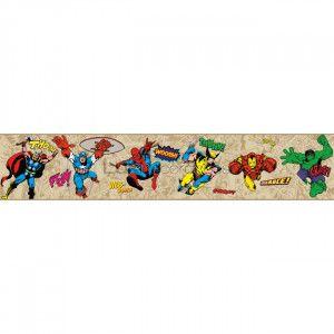 Faixa Super Heróis