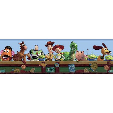 Faixa de Parede Toy Store Disney York II DK5800BD