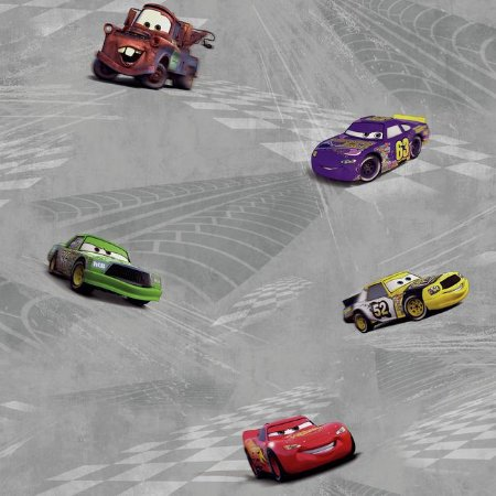 Papel de Parede Carros Disney York II DK6119