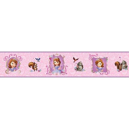 Faixa de Parede Princesinha Sofia Disney York II DS7621BD