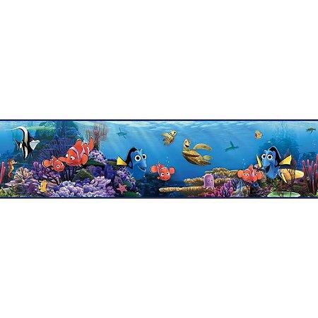 Faixa de Parede Procurando Nemo Disney York II DS7687BD