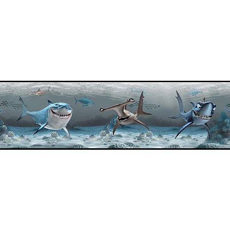 Faixa de Parede Procurando Nemo Disney York II DS7692BD
