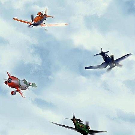 Papel de Parede Aviões Disney York II DS7724