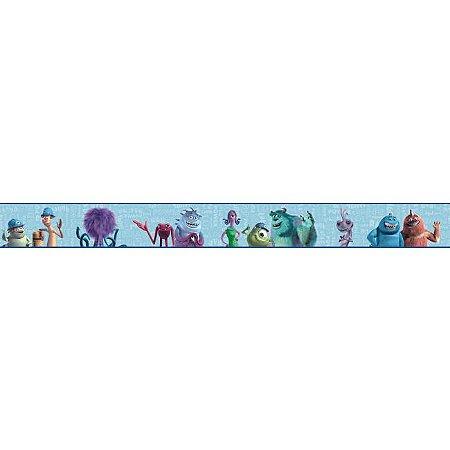 Faixa de Parede Monstros SA Disney York II DS7745BD