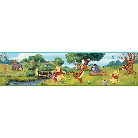 Faixa de Parede Ursinho Pooh Disney York II DS7765BD