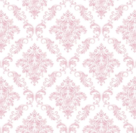 Papel de Parede Damask Rosa Bobinex Renascer 6249 Vinílico