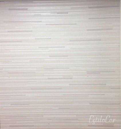 Papel de Parede Listras Horizontais Tons de Cinza com Brilho e Relevo Kantai Grace Vinílico GR921404
