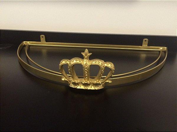 Dossel de Coroa Dourado