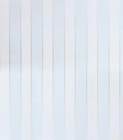 PAPEL DE PAREDE LISTRAS (TONS DE AZUL/ COM BRILHO)