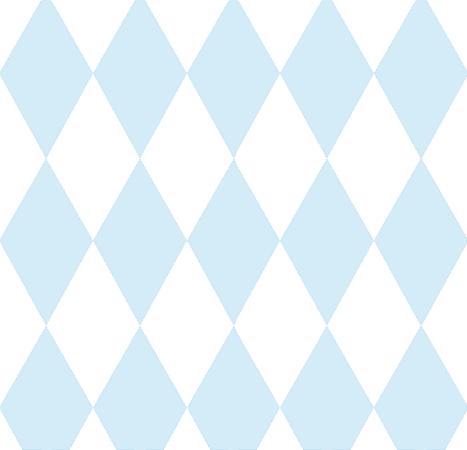Papel de Parede Treboli Triângulo Azul