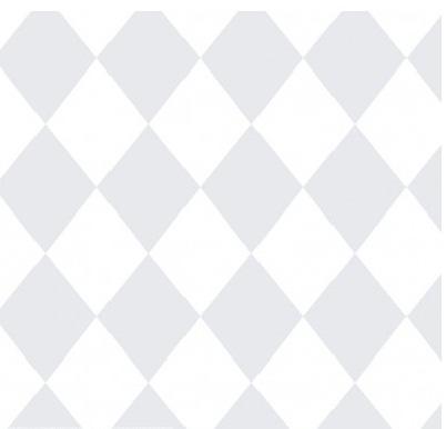 Papel de Parede Treboli Triângulo Cinza