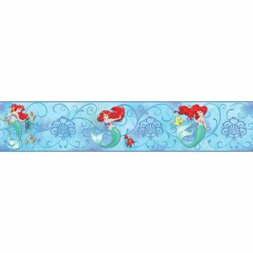 Faixa Pequena Sereia Azul DY0344BD