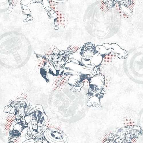 Papel de Parede Vingadores Disney York III DY0246