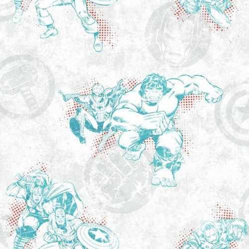 Papel de Parede Vingadores Disney York III DY0244