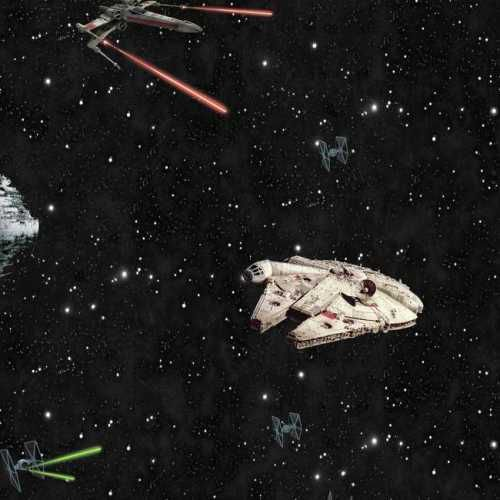 Papel de Parede Star Wars Disney York III DY0298
