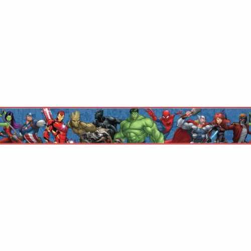 Faixa de Parede Vingadores Disney York III DY0263BD